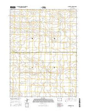 Clarkville NE Colorado Current topographic map, 1:24000 scale, 7.5 X 7.5 Minute, Year 2016 from Colorado Maps Store