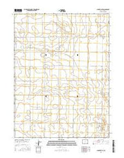 Clarkville SE Colorado Current topographic map, 1:24000 scale, 7.5 X 7.5 Minute, Year 2016 from Colorado Maps Store
