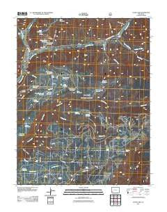 Clyde Lake Colorado Historical topographic map, 1:24000 scale, 7.5 X 7.5 Minute, Year 2011