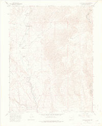 Cooper Mountain Colorado Historical topographic map, 1:24000 scale, 7.5 X 7.5 Minute, Year 1954