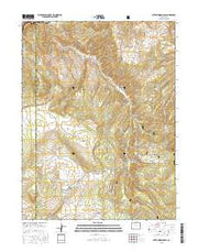 Cottonwood Pass Colorado Current topographic map, 1:24000 scale, 7.5 X 7.5 Minute, Year 2016 from Colorado Maps Store