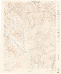 Crested Butte Colorado Historical topographic map, 1:62500 scale, 15 X 15 Minute, Year 1888