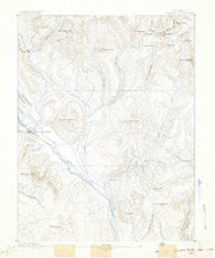 Crested Butte Colorado Historical topographic map, 1:62500 scale, 15 X 15 Minute, Year 1889