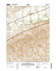 Crook Colorado Current topographic map, 1:24000 scale, 7.5 X 7.5 Minute, Year 2016 from Colorado Maps Store