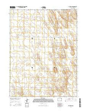De Nova NW Colorado Current topographic map, 1:24000 scale, 7.5 X 7.5 Minute, Year 2016 from Colorado Maps Store