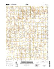 De Nova SE Colorado Current topographic map, 1:24000 scale, 7.5 X 7.5 Minute, Year 2016 from Colorado Maps Store
