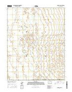 Deadman Camp Colorado Current topographic map, 1:24000 scale, 7.5 X 7.5 Minute, Year 2016 from Colorado Map Store