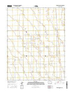 Deadman Camp SW Colorado Current topographic map, 1:24000 scale, 7.5 X 7.5 Minute, Year 2016 from Colorado Map Store