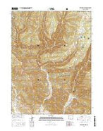 Deep Creek Point Colorado Current topographic map, 1:24000 scale, 7.5 X 7.5 Minute, Year 2016 from Colorado Map Store