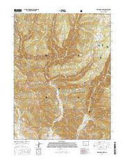 Deep Creek Point Colorado Current topographic map, 1:24000 scale, 7.5 X 7.5 Minute, Year 2016 from Colorado Maps Store
