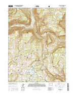 Deep Lake Colorado Current topographic map, 1:24000 scale, 7.5 X 7.5 Minute, Year 2016 from Colorado Map Store