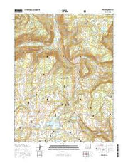 Deep Lake Colorado Current topographic map, 1:24000 scale, 7.5 X 7.5 Minute, Year 2016 from Colorado Maps Store