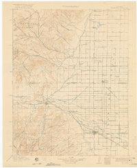 Del Norte Colorado Historical topographic map, 1:125000 scale, 30 X 30 Minute, Year 1917