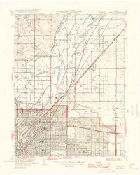 Derby Colorado Historical topographic map, 1:31680 scale, 7.5 X 7.5 Minute, Year 1947