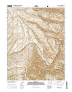 Devils Gulch Colorado Current topographic map, 1:24000 scale, 7.5 X 7.5 Minute, Year 2016 from Colorado Map Store