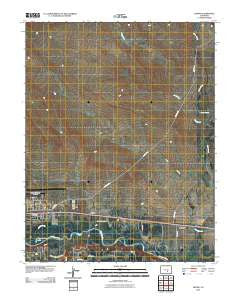 Devine Colorado Historical topographic map, 1:24000 scale, 7.5 X 7.5 Minute, Year 2010