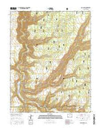 Doe Canyon Colorado Current topographic map, 1:24000 scale, 7.5 X 7.5 Minute, Year 2016 from Colorado Map Store