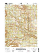 Dome Peak Colorado Current topographic map, 1:24000 scale, 7.5 X 7.5 Minute, Year 2016 from Colorado Map Store
