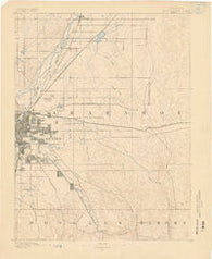 East Denver Colorado Historical topographic map, 1:125000 scale, 30 X 30 Minute, Year 1890