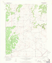 Eastonville Colorado Historical topographic map, 1:24000 scale, 7.5 X 7.5 Minute, Year 1954