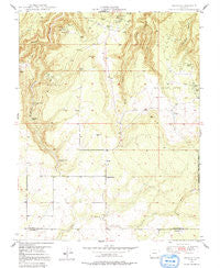 Egnar Colorado Historical topographic map, 1:24000 scale, 7.5 X 7.5 Minute, Year 1949