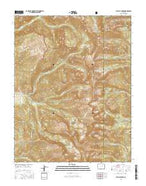 El Valle Creek Colorado Current topographic map, 1:24000 scale, 7.5 X 7.5 Minute, Year 2016 from Colorado Map Store