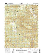 Electric Mountain Colorado Current topographic map, 1:24000 scale, 7.5 X 7.5 Minute, Year 2016 from Colorado Map Store