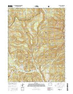 Elk Knob Colorado Current topographic map, 1:24000 scale, 7.5 X 7.5 Minute, Year 2016 from Colorado Map Store