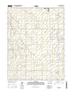 Ellicott Colorado Current topographic map, 1:24000 scale, 7.5 X 7.5 Minute, Year 2016 from Colorado Map Store