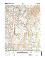 Elsmere Colorado Current topographic map, 1:24000 scale, 7.5 X 7.5 Minute, Year 2016 from Colorado Map Store