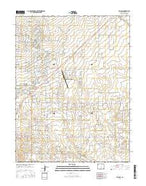 Falcon Colorado Current topographic map, 1:24000 scale, 7.5 X 7.5 Minute, Year 2016 from Colorado Map Store