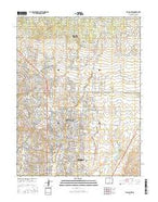 Falcon NW Colorado Current topographic map, 1:24000 scale, 7.5 X 7.5 Minute, Year 2016 from Colorado Map Store