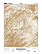 Farisita Colorado Current topographic map, 1:24000 scale, 7.5 X 7.5 Minute, Year 2016 from Colorado Map Store