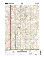 Frederick Colorado Current topographic map, 1:24000 scale, 7.5 X 7.5 Minute, Year 2016 from Colorado Map Store