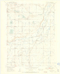 Gowanda Colorado Historical topographic map, 1:24000 scale, 7.5 X 7.5 Minute, Year 1949