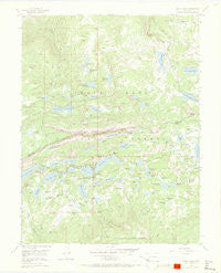 Grand Mesa Colorado Historical topographic map, 1:24000 scale, 7.5 X 7.5 Minute, Year 1955
