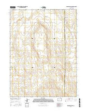 Greasewood Lake Colorado Current topographic map, 1:24000 scale, 7.5 X 7.5 Minute, Year 2016 from Colorado Maps Store