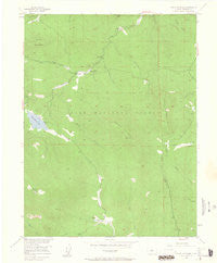 Green Mountain Colorado Historical topographic map, 1:24000 scale, 7.5 X 7.5 Minute, Year 1954