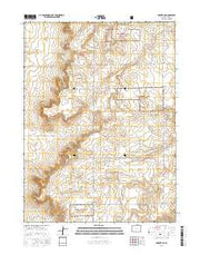 Grover NE Colorado Current topographic map, 1:24000 scale, 7.5 X 7.5 Minute, Year 2016 from Colorado Maps Store