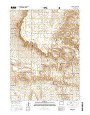 Grover SE Colorado Current topographic map, 1:24000 scale, 7.5 X 7.5 Minute, Year 2016 from Colorado Maps Store