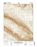 Gypsum Gap Colorado Current topographic map, 1:24000 scale, 7.5 X 7.5 Minute, Year 2016 from Colorado Map Store