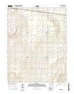 Hawkins Colorado Current topographic map, 1:24000 scale, 7.5 X 7.5 Minute, Year 2016 from Colorado Map Store