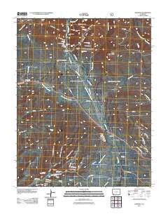 Hesperus Colorado Historical topographic map, 1:24000 scale, 7.5 X 7.5 Minute, Year 2011