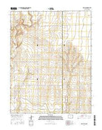 Holly NE Colorado Current topographic map, 1:24000 scale, 7.5 X 7.5 Minute, Year 2016 from Colorado Map Store