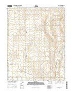 Holly NW Colorado Current topographic map, 1:24000 scale, 7.5 X 7.5 Minute, Year 2016 from Colorado Map Store