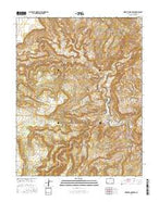 Horse Range Mesa Colorado Current topographic map, 1:24000 scale, 7.5 X 7.5 Minute, Year 2016 from Colorado Map Store