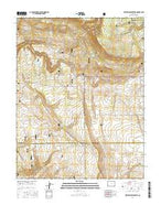 Hotchkiss Reservoir Colorado Current topographic map, 1:24000 scale, 7.5 X 7.5 Minute, Year 2016 from Colorado Map Store
