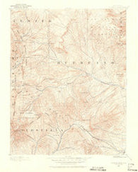 Huerfano Park Colorado Historical topographic map, 1:125000 scale, 30 X 30 Minute, Year 1889