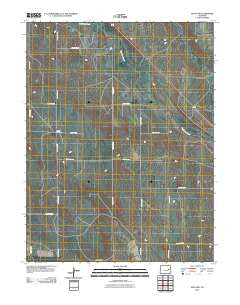 Hugo SW Colorado Historical topographic map, 1:24000 scale, 7.5 X 7.5 Minute, Year 2010