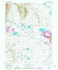 Hygiene Colorado Historical topographic map, 1:24000 scale, 7.5 X 7.5 Minute, Year 1968